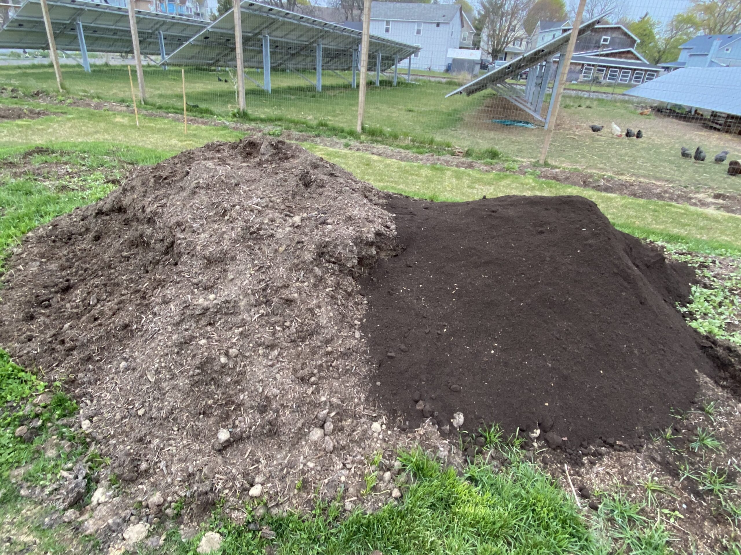 difference between healthy soil and unhealthy soil